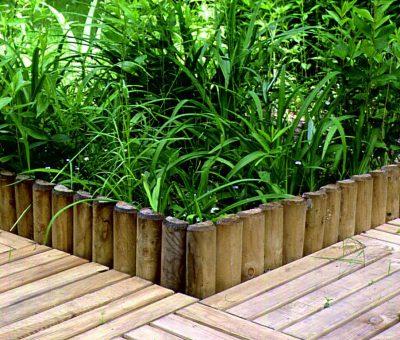 Palisady drewniane – małe produkty ogrodowe o wielkim znaczeniu!